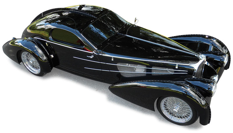 Build Your Own Car Kit >> Delahaye USA - Recreating the Most Beautiful Cars in the World